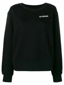 Han Kjøbenhavn embroidered logo sweatshirt - Black