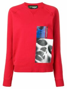 Dsquared2 x Mert & Marcus printed patch sweatshirt