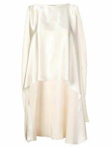 Dusan asymmetric blouse - White