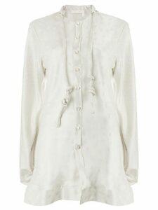 Chloé patterned blouse - Grey