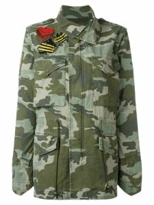 Mr & Mrs Italy camouflage military jacket - Green