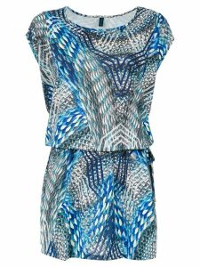 Lygia & Nanny 'Irere' printed tunic - Blue