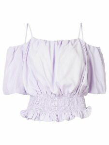 PortsPURE off-the-shoulder blouse - PURPLE