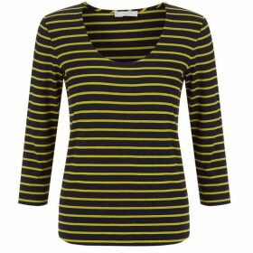 Hobbs Striped Daisy Top