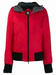 Canada Goose zipped padded jacket - Red