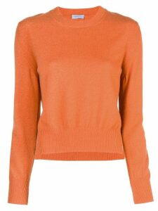 Rosetta Getty cropped pullover - ORANGE