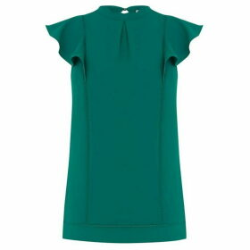 Oasis Frill Shell Top