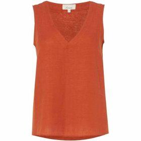 Linea Maya linen vest