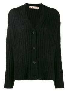 Marni ribbed cardigan - Black