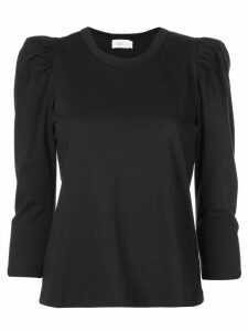 A.L.C. Karlie puff sleeve T-shirt - Black
