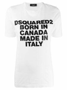 Dsquared2 Born In Canada T-shirt - White