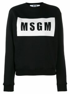 MSGM printed T-shirt - Black