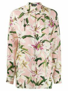Dolce & Gabbana floral print shirt - PINK
