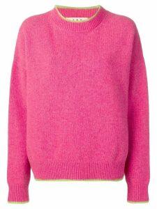 Marni oversized sweatshirt - PINK