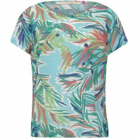 Nougat Palm Scoop T/Shirt
