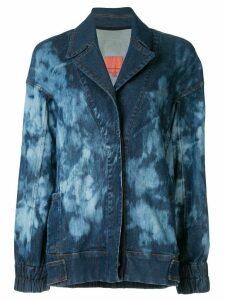 Manning Cartell tie-dye denim jacket - Blue