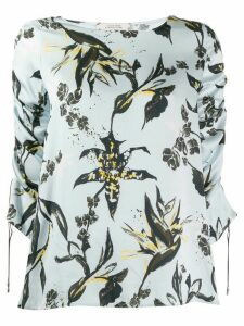 Dorothee Schumacher printed relaxed-fit blouse - Blue