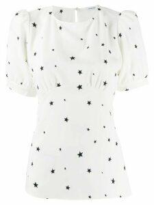 P.A.R.O.S.H. star print blouse - White