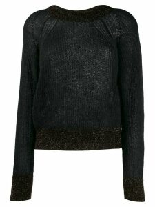 Pinko glitter detail sweater - Black
