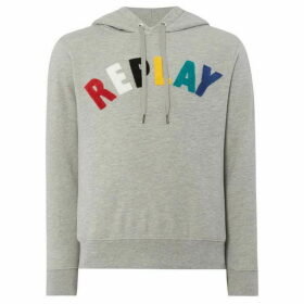 Replay Hoodie With Patch