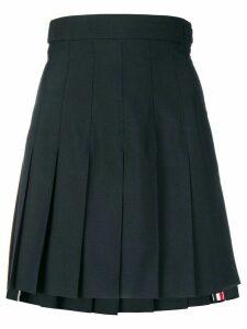 Thom Browne Super-High Waist Miniskirt - Blue