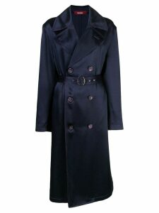 Sies Marjan Sigourney double-breasted trench coat - Blue