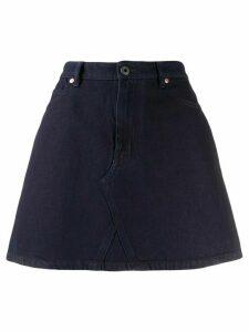 Valentino VLOGO denim skirt - Blue