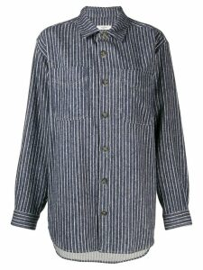 Isabel Marant Étoile long sleeve striped shirt - Blue