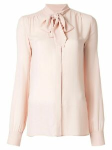 Giambattista Valli bow detail blouse - PINK