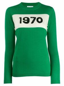 Bella Freud 1970 sequin jumper - Green