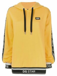 Dolce & Gabbana hooded sweatshirt - Yellow