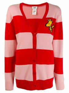 Chinti and Parker Woodstock striped cardigan - PINK