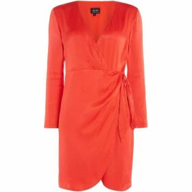Bardot Wrap dress with tie on the side