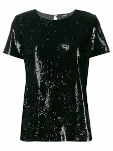 P.A.R.O.S.H. Pille top - Black