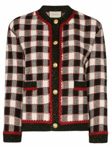 Gucci check wool cardigan - Multicolour