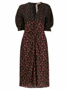 Nº21 floral print dress - Black