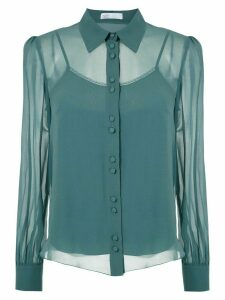 Nk Power Teresa silk shirt - Green