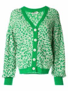Baum Und Pferdgarten Celine leopard cardigan - Green