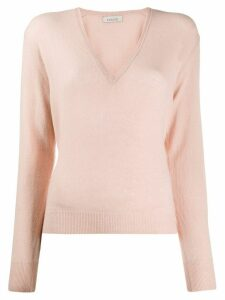 Laneus V-neck sweater - PINK