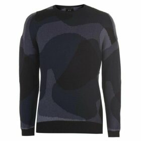 Armani Exchange Armani Camouflage Knit Jumper Mens