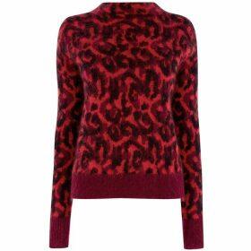 Karen Millen Leopard Print Jumper