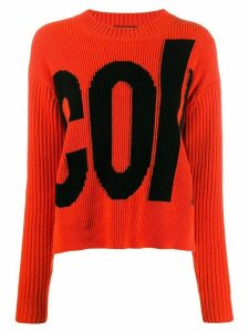 colville logo sweater - ORANGE