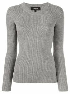Paule Ka ribbed jumper - Grey