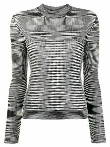 Missoni striped knit sweater - Black