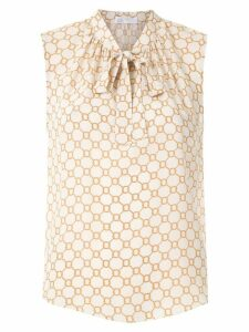 Nk Rope Elza silk top - NEUTRALS