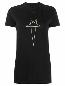 Rick Owens DRKSHDW star print crew neck T-shirt - Black