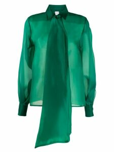 Ultràchic oversized bow blouse - Green