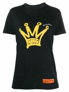 Heron Preston Crown-print crew neck T-shirt - Black