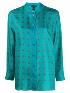 Escada silk printed blouse - Blue