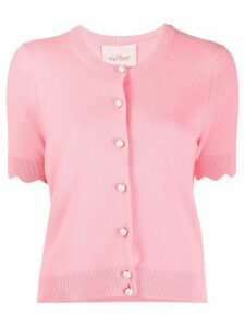 Marc Jacobs short sleeved cashmere cardigan - PINK